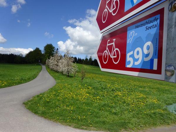 Herzschlaufe Seetal Westast - SchweizMobil Route 599