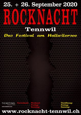 Rocknacht Tennwil 2021 mit Hammer, Thunderstone, Victory, Serious Black