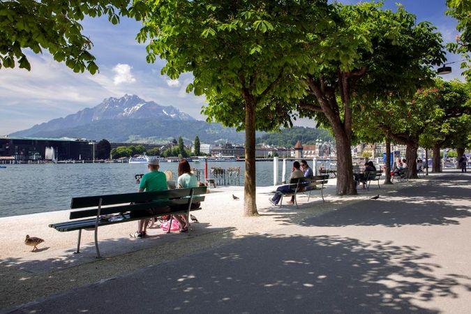 Schweiz Mobil 560: Luzerner Seeuferweg