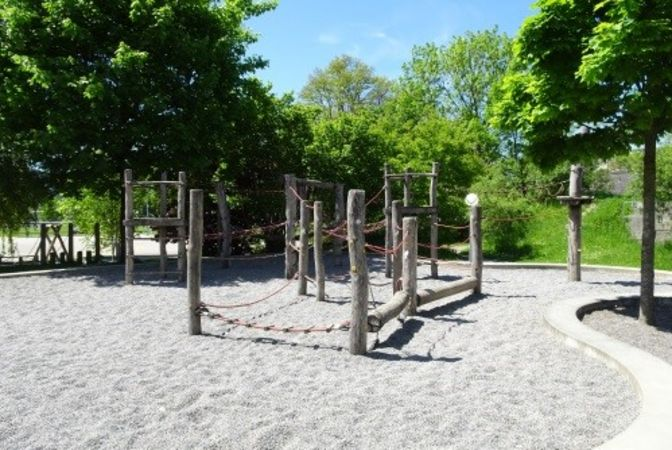 Hitzkirch, Spielplatz Schulhaus