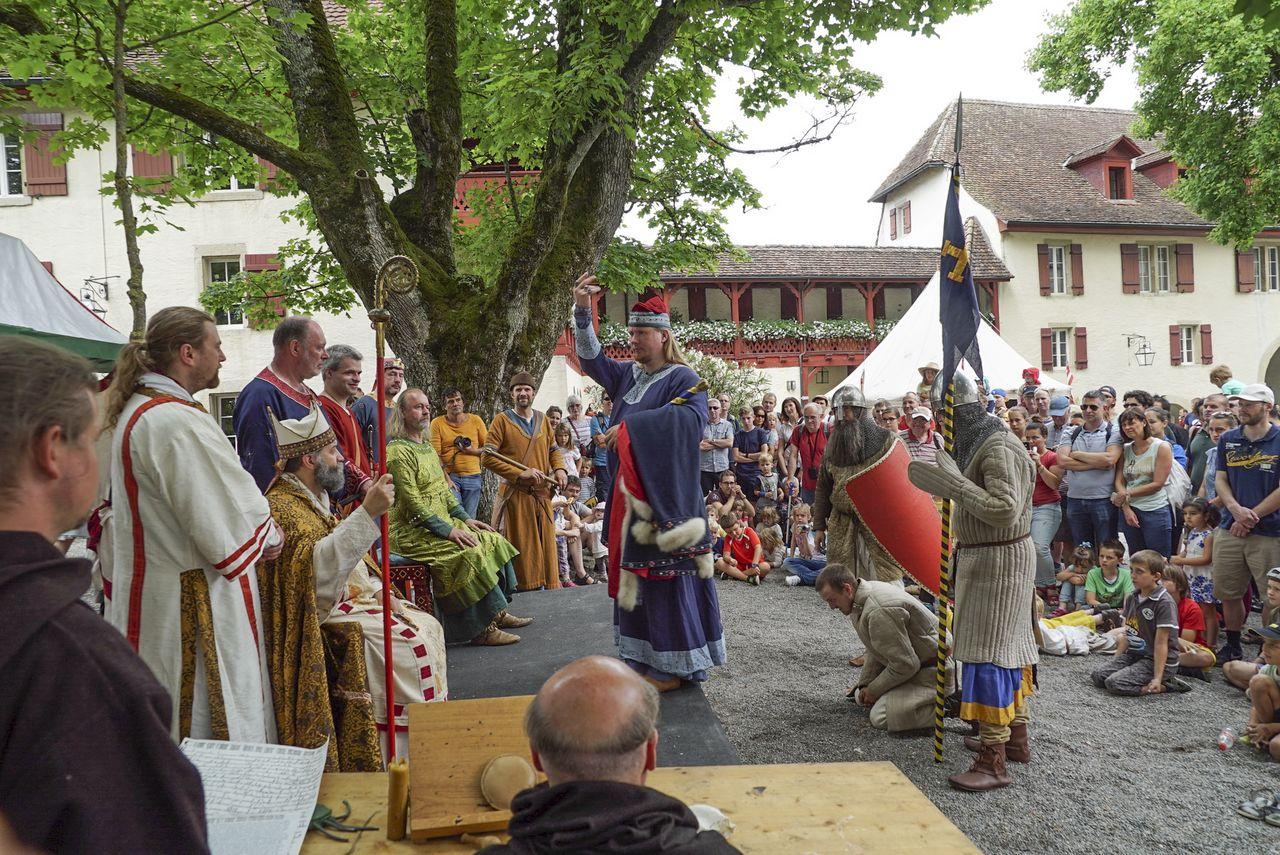Mittelalterliche Erlebnistage: Mit Löffel und Schwert