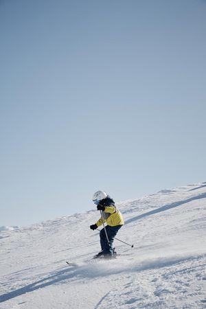Skifahren auf dem Horben