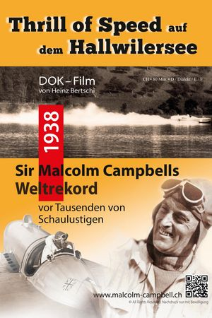 Malcolm Campbells Weltrekord, Hallwilersee