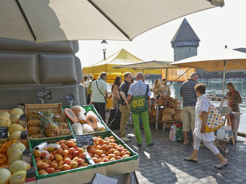 Wochenmarkt Luzern
