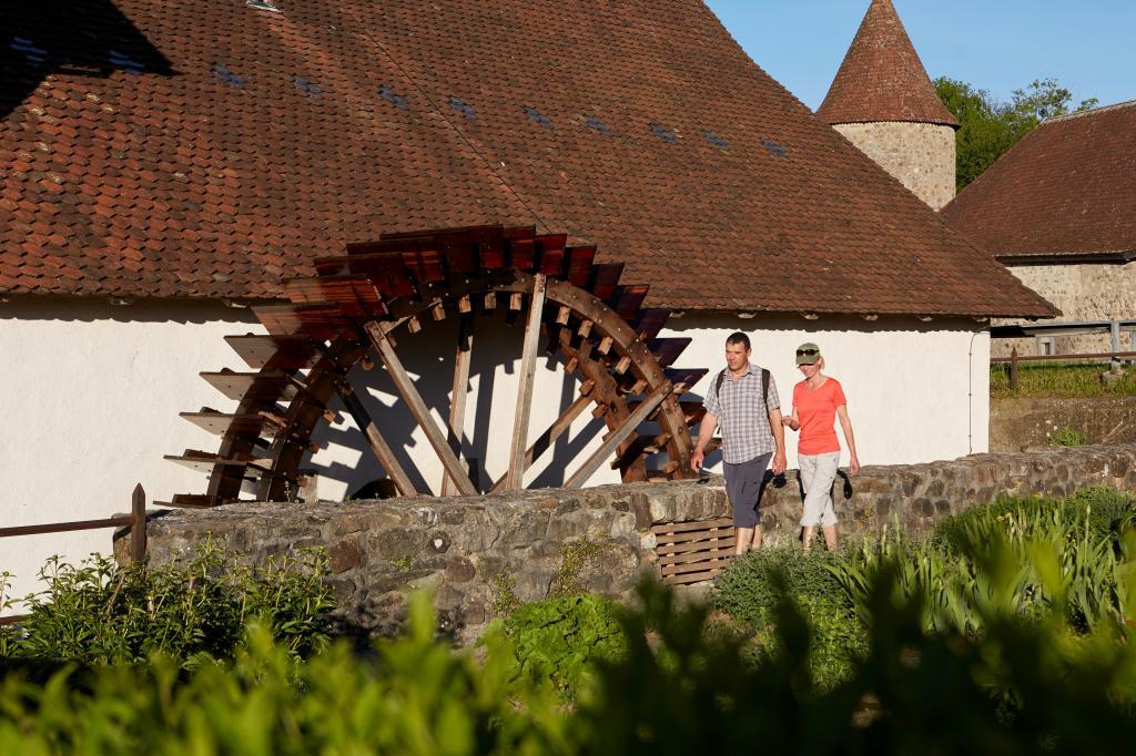 Industrieweg Aabach: Etappe Schloss Hallwyl - Lenzburg